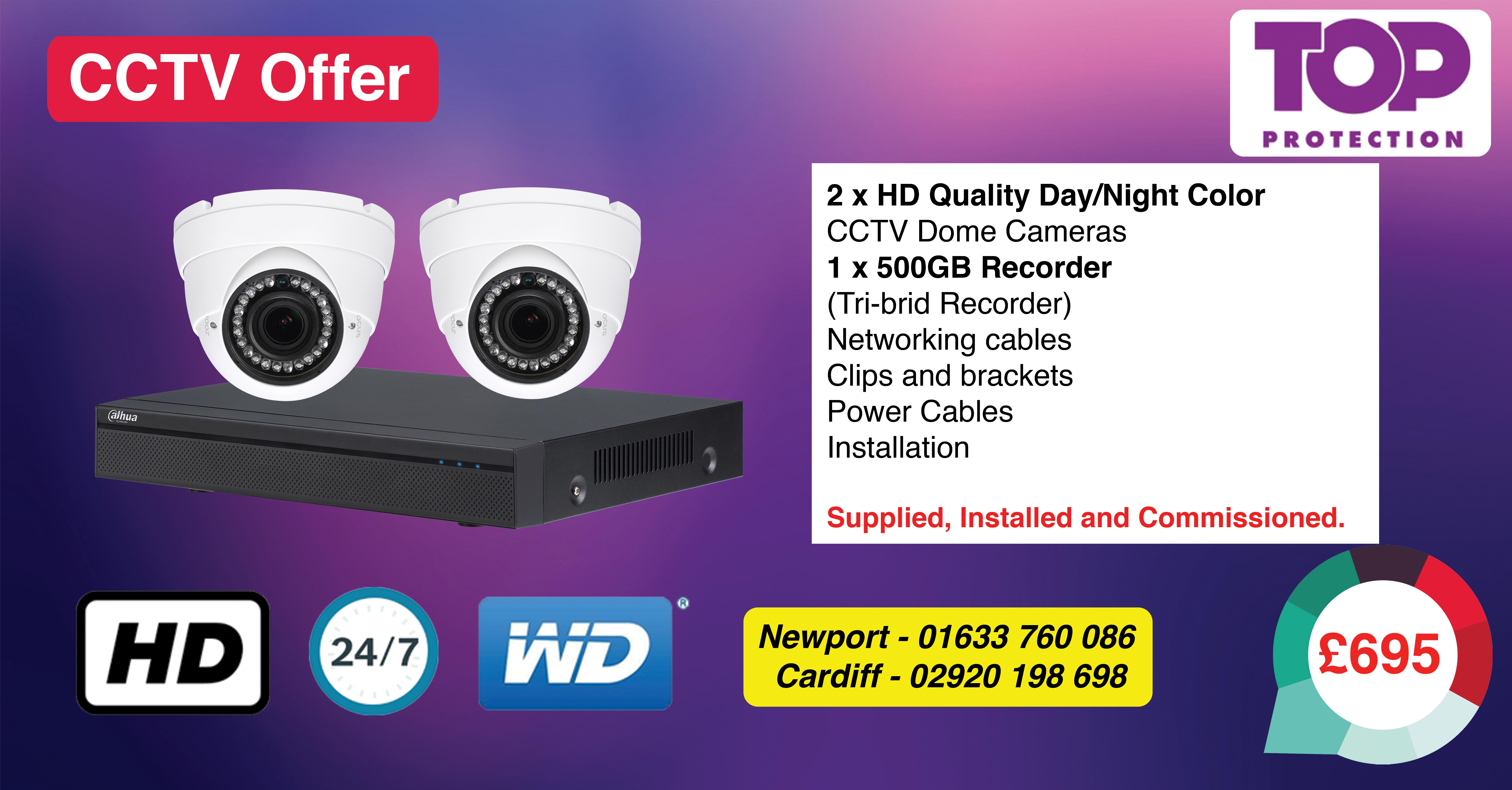 CCTV installers Newport Cardiff and Bristol